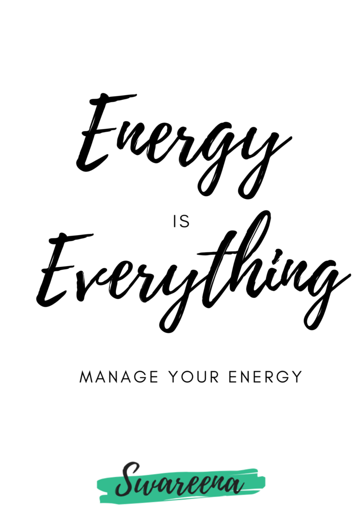 Energy Is Everything  Quote/ Wallpaper
